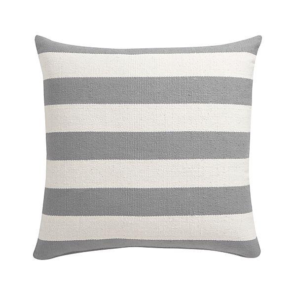 "Olin Grey 25"" Floor Pillow"