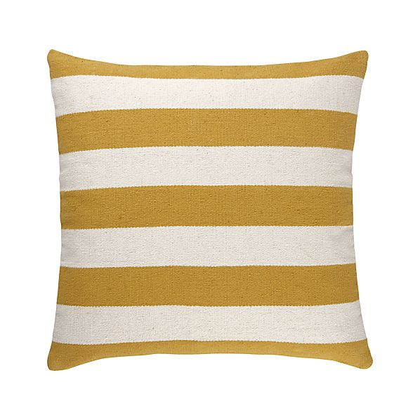 "Olin Gold 25"" Floor Pillow"