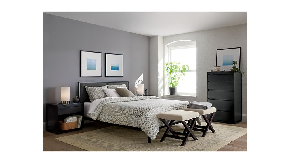 crate and barrel bedroom oliver king bed crate and barrel 15043