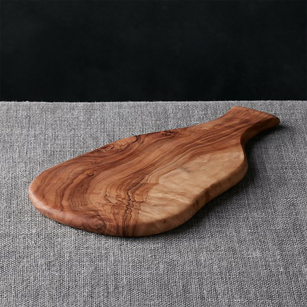 Wooden Cheese Boards ~ Olivewood cheese board crate and barrel