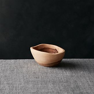 "Olivewood 4.72""x3.5"" Nibble Bowl"