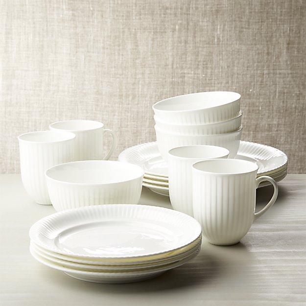 Olivia 16-Piece Dinnerware Set