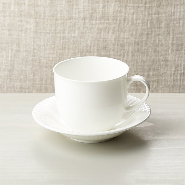 Bone China Cup And Saucer Crate And Barrel