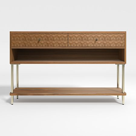 Olsen Small Console Table With Storage
