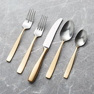 Olympic Gold Flatware 20-Piece Set