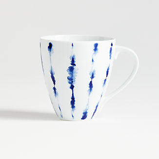 Omri Blue and White Mug