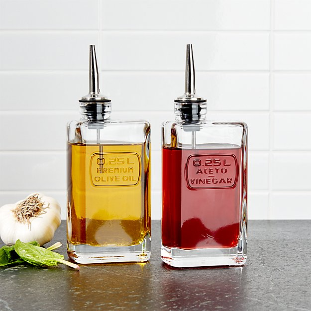 Optima Oil and Vinegar Bottles