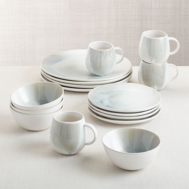 Ora Stoneware Dinnerware 16 Piece Set Reviews Crate