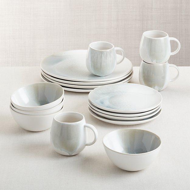 Ora Stoneware Dinnerware 16-Piece Set - Image 1 of 2