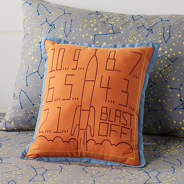 rocket throw pillow + reviews   crate and barrel What Is a Throw Pillow