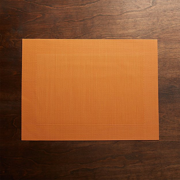 Orange Easy Care Placemat
