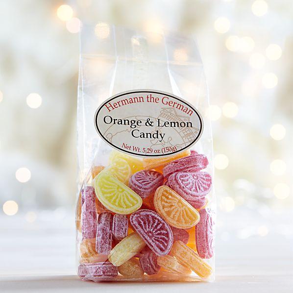 Orange and Lemon Candy