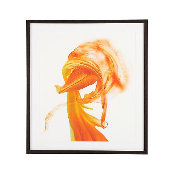 Orange Tulip Print