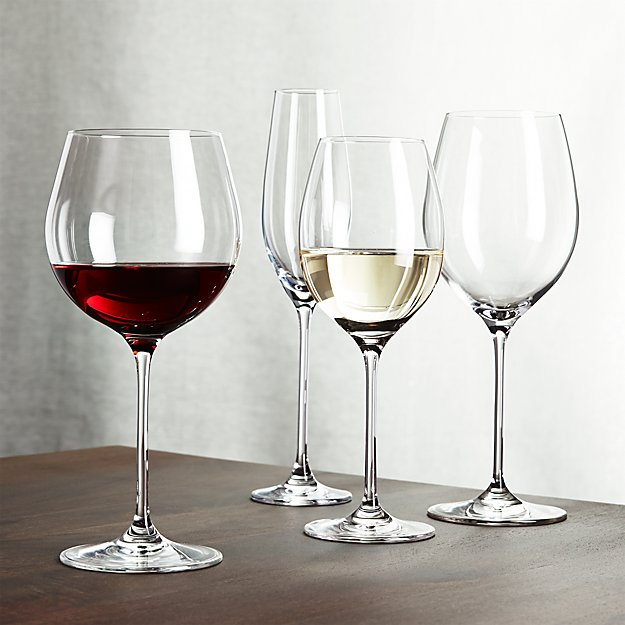 Cb2 Free Shipping >> Oregon Wine Glasses | Crate and Barrel
