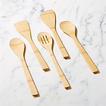 5-Piece Organic Bamboo Utensil Set