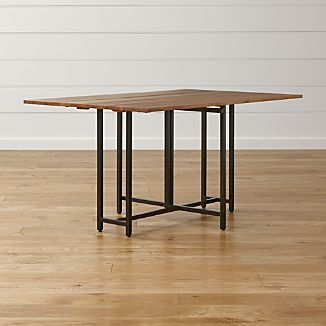 Superior Origami Drop Leaf Rectangular Dining Table
