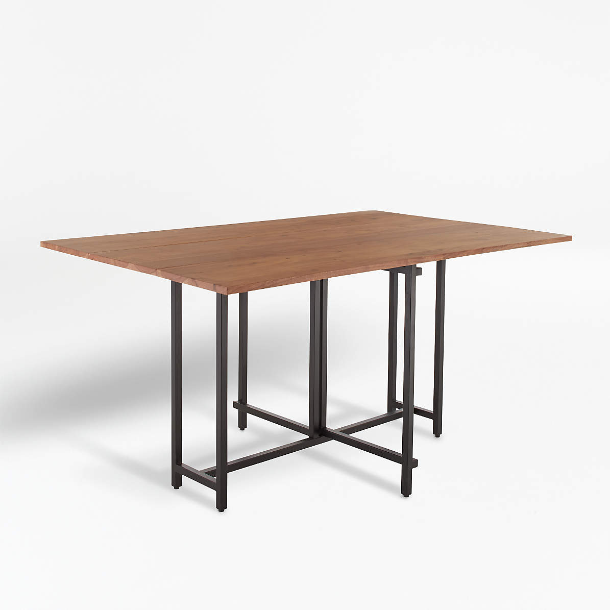 Origami Drop Leaf Rectangular Dining Table Reviews Crate And Barrel