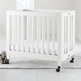 Babyletto Origami White Mini Crib