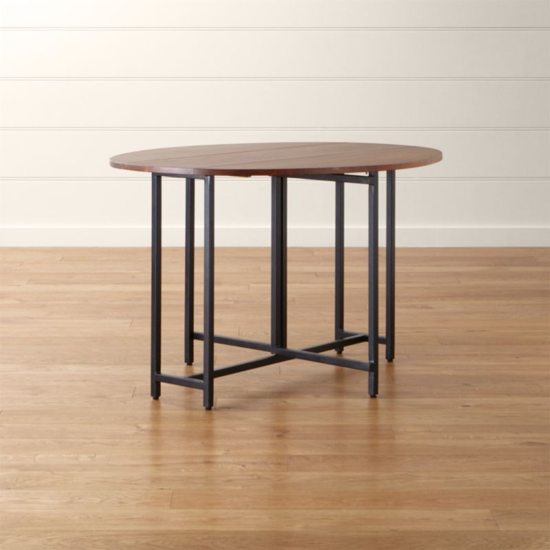Origami Drop Leaf Oval Dining Table in Dining Tables Reviews