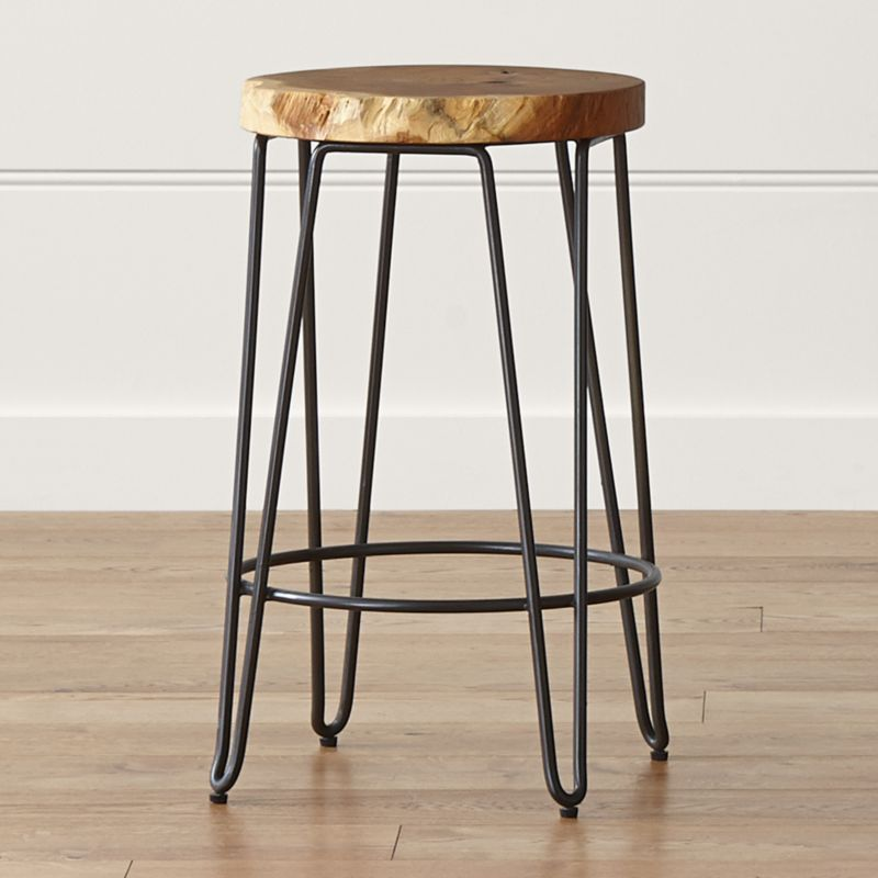 Origin Backless Counter Stool Reviews Crate And Barrel