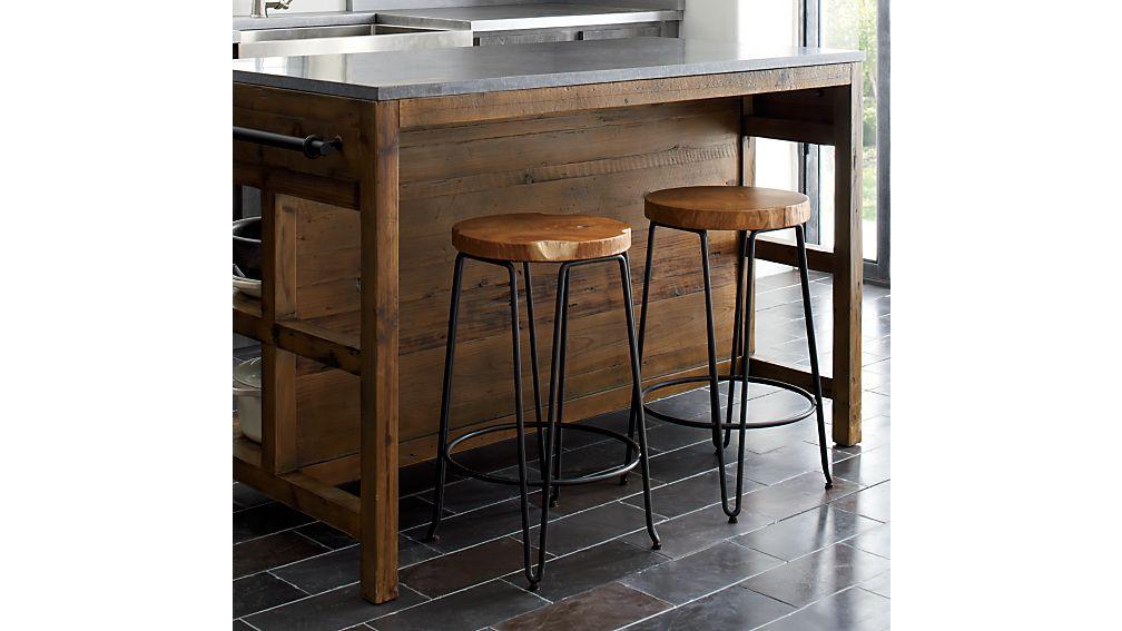 Bluestone Reclaimed Wood Large Kitchen Island