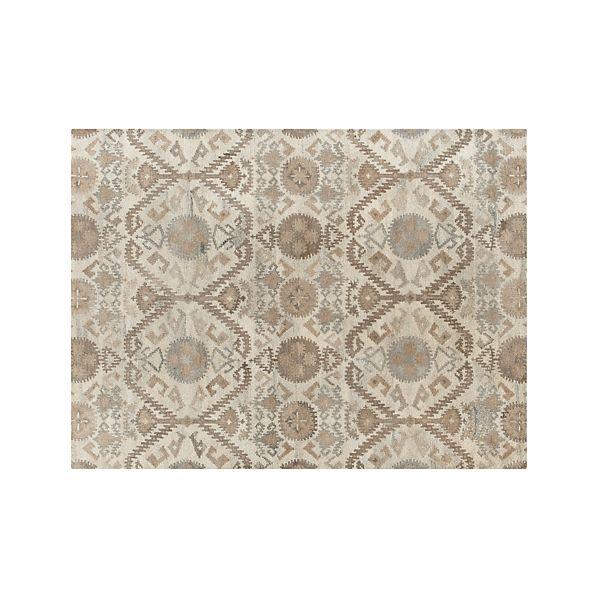 Orissa Neutral Wool 9'x12' Rug
