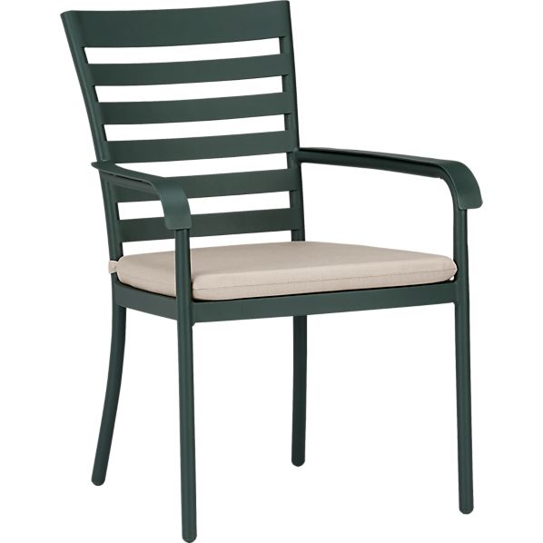 Orleans Dining Chair with Sunbrella ® Stone Cushion
