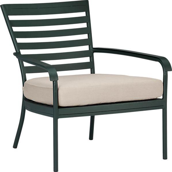 Orleans Lounge Chair with Sunbrella ® Stone Cushion
