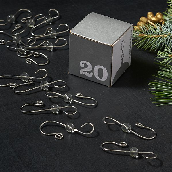 OrnamentHooksWBeadS20SHF17