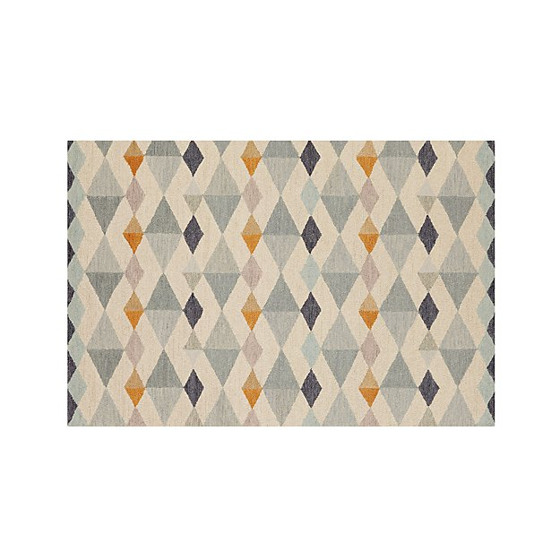 Orson Diamond Rug 6 X9 Crate And Barrel