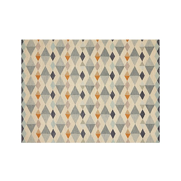 Orson diamond rug 9 39 x12 39 in area rugs reviews crate - Crate and barrel espana ...