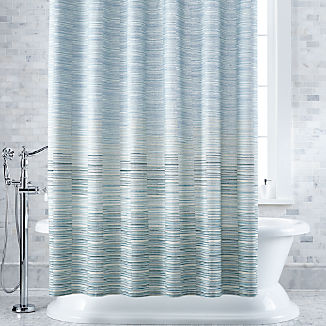 Oseas Stripe Shower Curtain