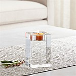 Oslo Medium Crystal Tea Light Candle Holder