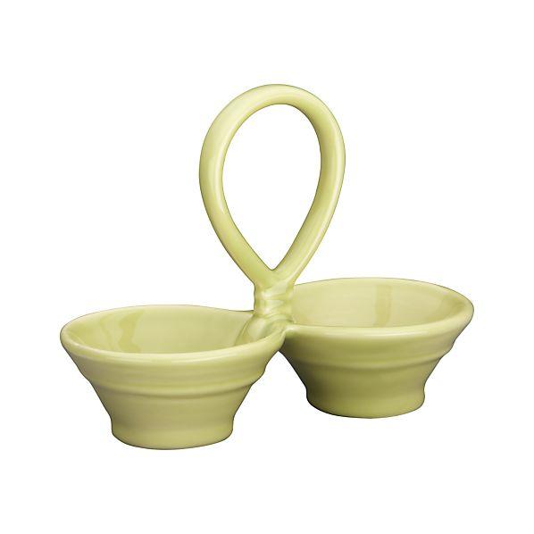 Osteria Light Green 2-Part Dish