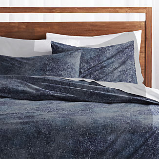Ostin Blue Duvet Covers and Pillow Shams