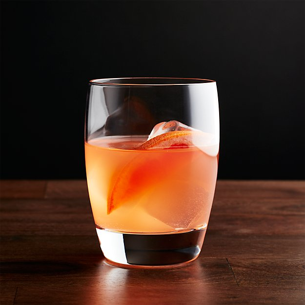 112103cf8cb Otis Double Old-Fashioned Glass + Reviews | Crate and Barrel