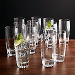 Otis Highball Glasses, Set of 12