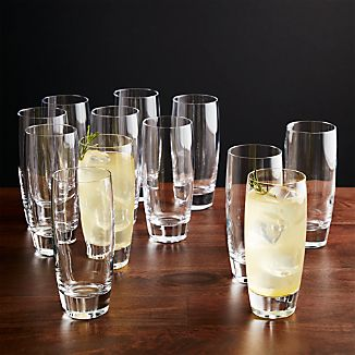 Set of 12 Otis Tall Drink Glasses