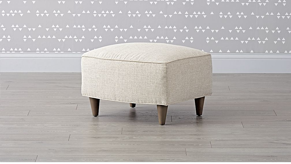 Toby Upholstered Ottoman - Image 1 of 5