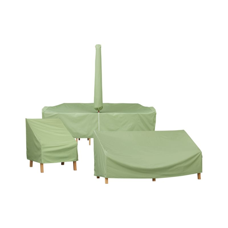 Outdoor furniture covers crate and barrel for Patio furniture covers