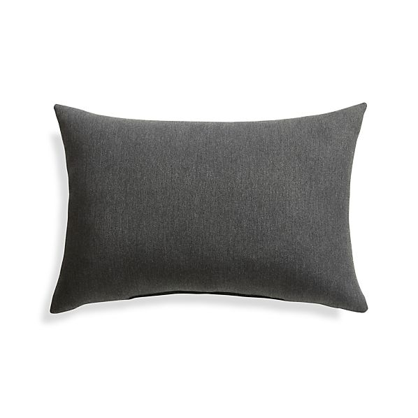 OutdoorPillowCharcoal20x13S17
