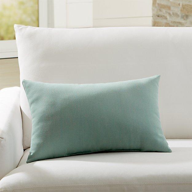 Sunbrella Canvas Spa Outdoor Lumbar Pillow Reviews