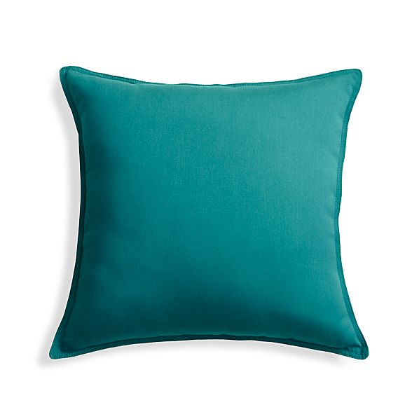 OutdoorPillowTurquoise20InS17