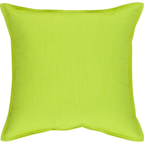 "Sunbrella ® Apple 22"" Sq. Outdoor Pillow"
