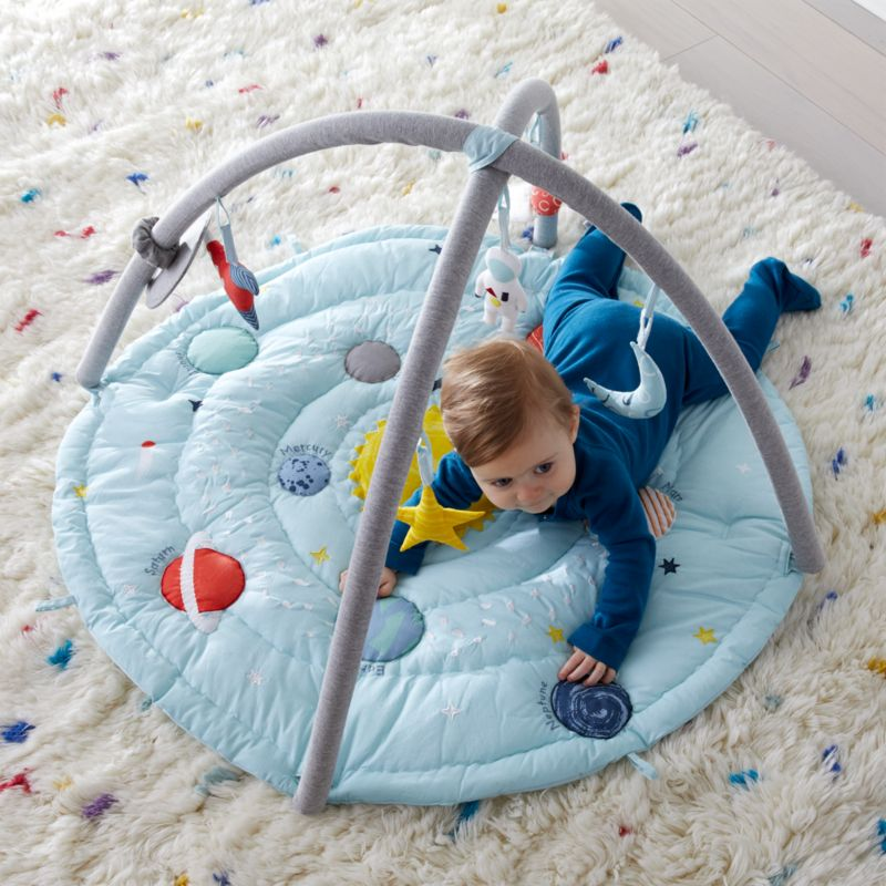 Outer Space Baby Activity Gym Reviews Crate And Barrel