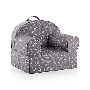 Large Dark Grey Outer Space Nod Chair