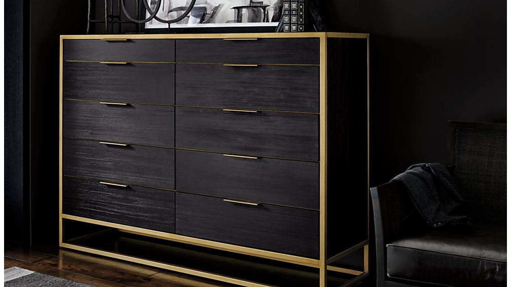 Oxford 10-Drawer Tall Dresser