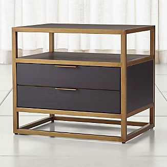 Oxford 2-Drawer Nightstand