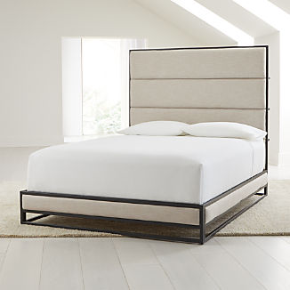 Oxford Ivory Upholstered Bed
