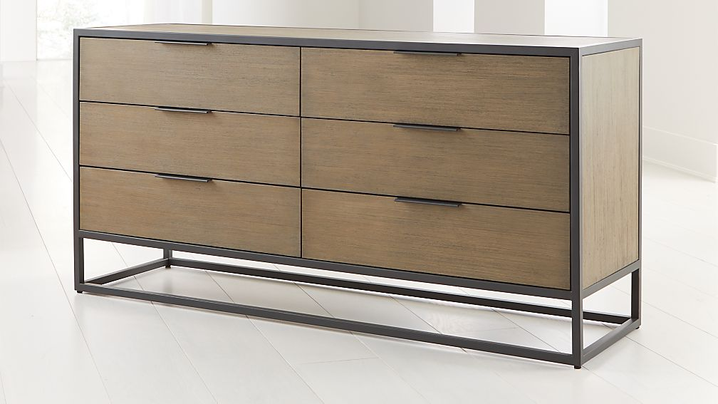 Oxford Shale 6-Drawer Dresser - Image 1 of 5